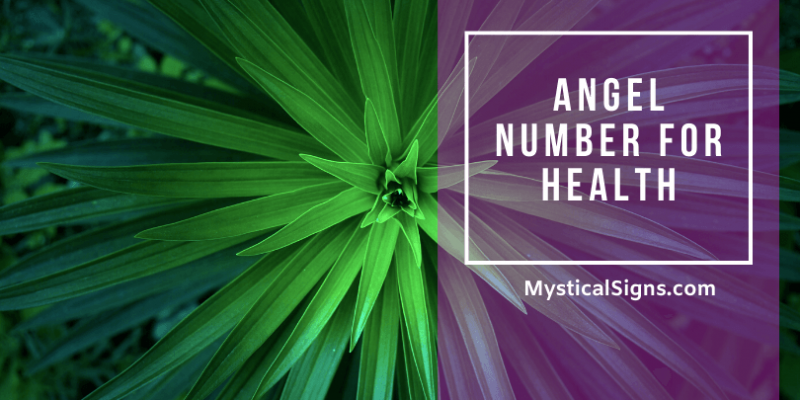 Angel Number For Health