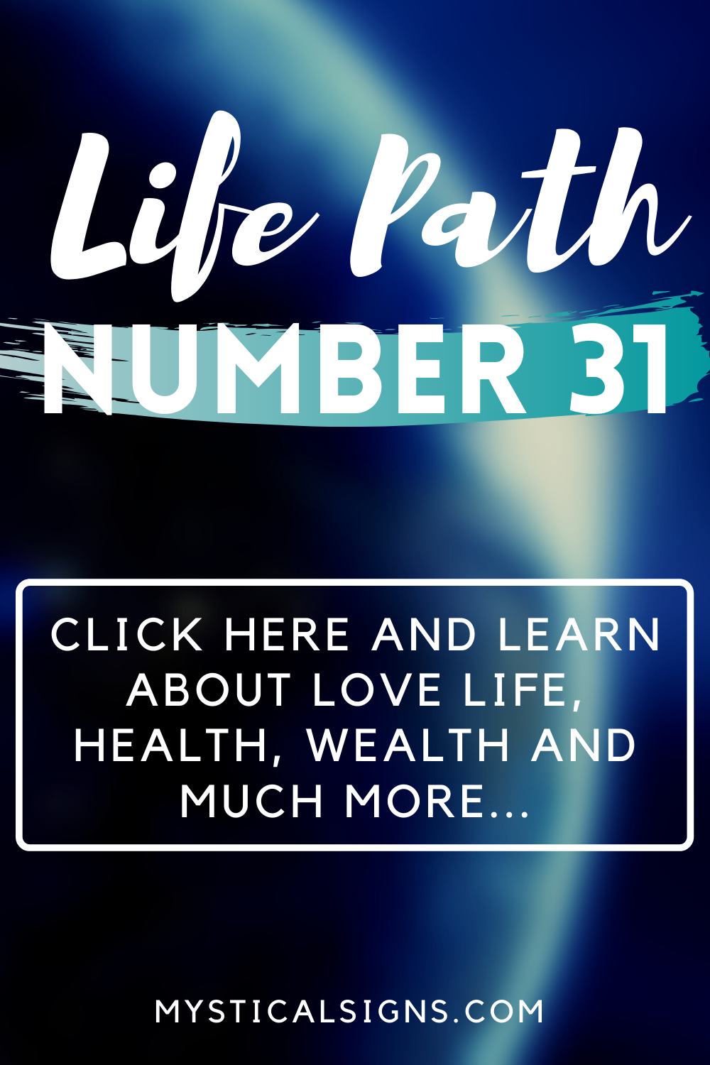 life path number 31