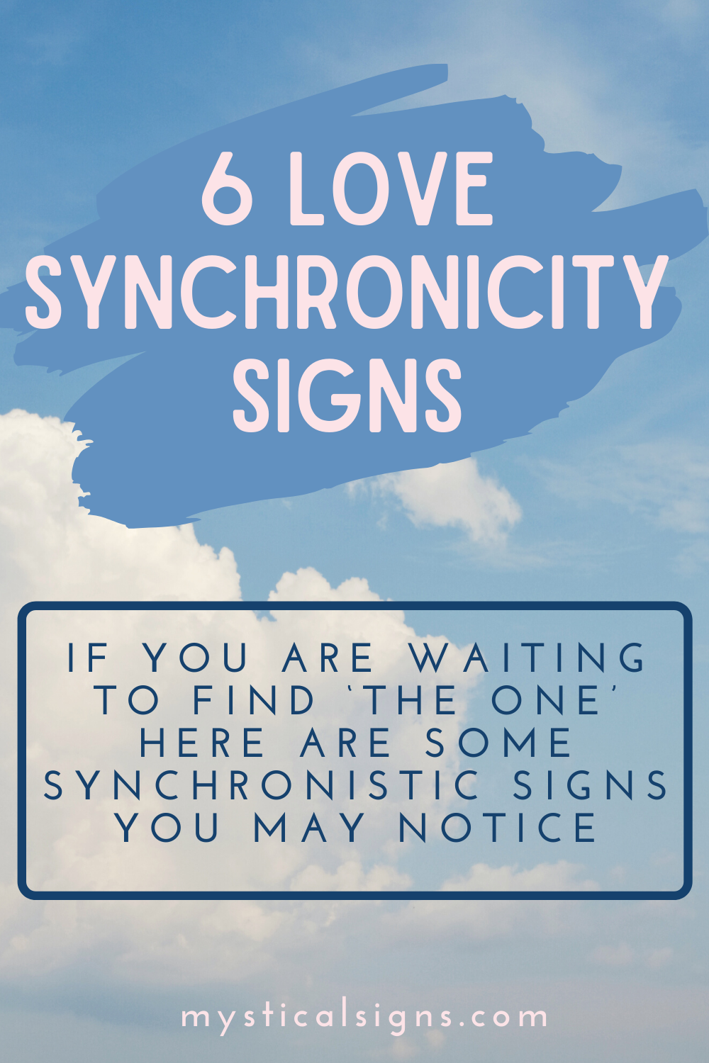 Love Synchronicity Signs